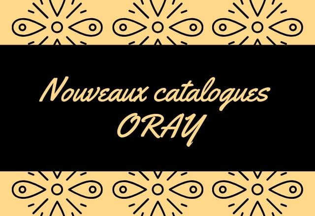 Nouveau catalogue ORAY Projection Systems 2019