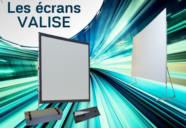 Les écrans valises -ORAY Projection Systems