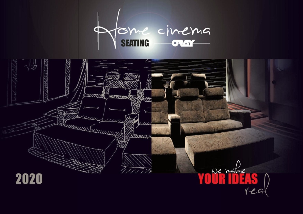 Home Cinema Armchairs Catalog