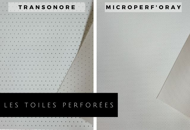 Toiles perforées ORAY