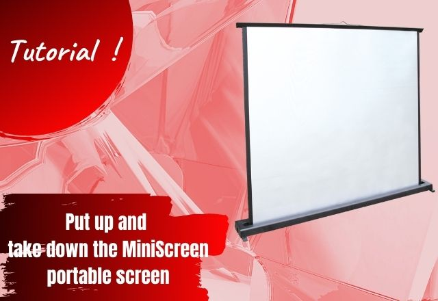 MiniScreen portable screen