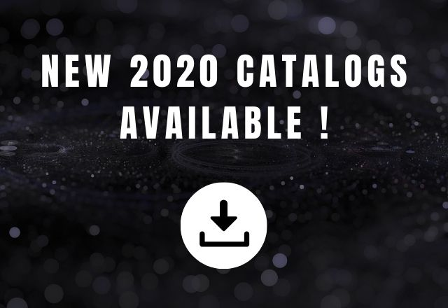 ORAY's 2020 catalogues