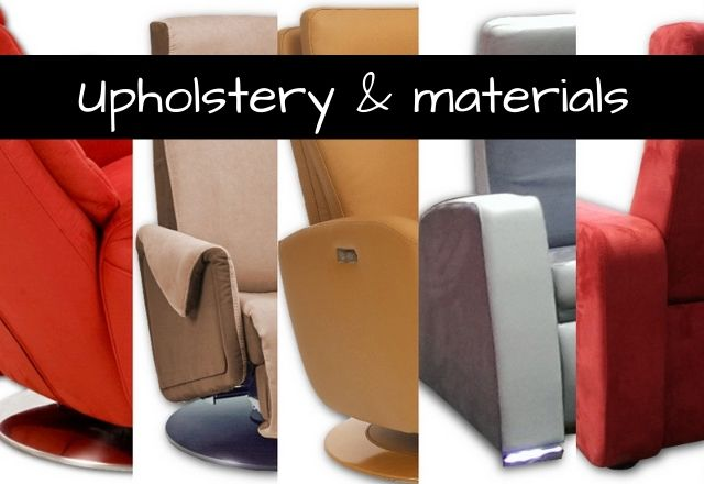 The choice of upholstery and trims for ORAY seats