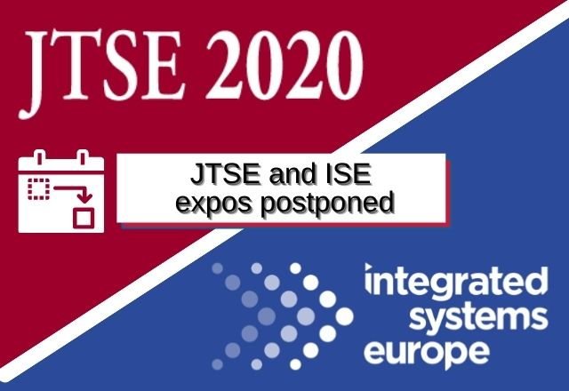 JTSE and ISE expos postponed